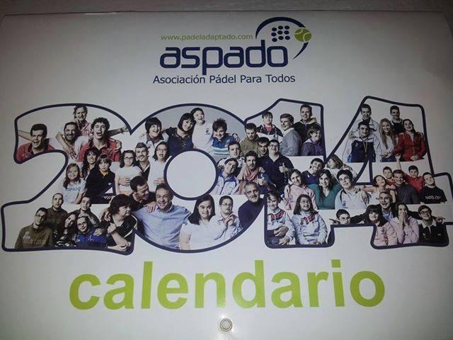Calendario solidario 2014.