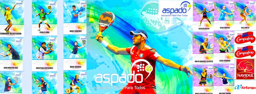 Premiados Aspado Master World Padel Tour 2013.
