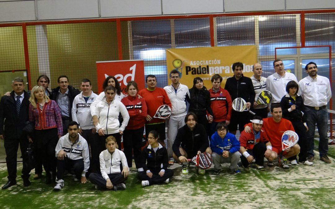 Premio de la Federación de pádel de Castilla y León.