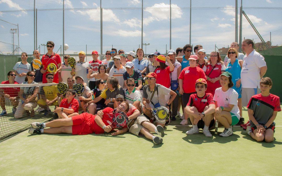 Más de un centenar de jugadores en el «V Torneo Nacional de Pádel Adaptado – Modalidad de Pie»