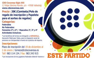 Primer Torneo Solidario Bankinter en favor de ASPADOCyL
