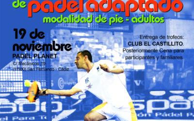 I Torneo Nacional de ASPADO Andalucía