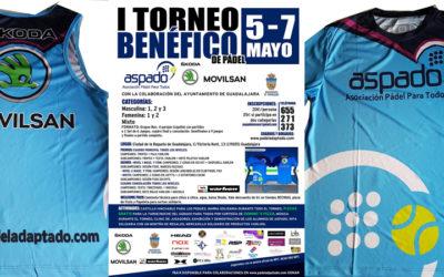 Torneo Benéfico en Guadalajara del 5 al 7 de mayo