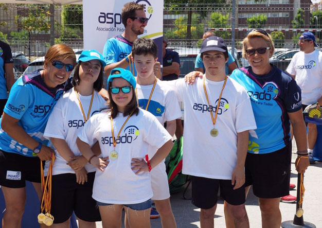 130 participantes en el I Torneo Internacional de ASPADO