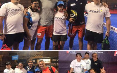 Alumnos de ASPADO en el WPT Sevilla Open