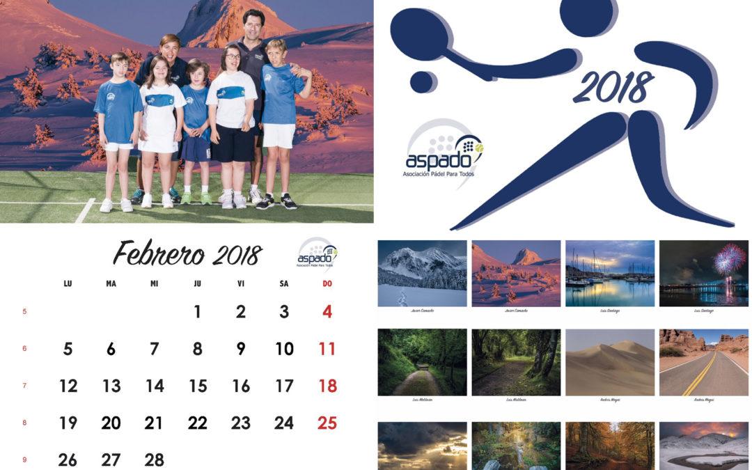 El calendario ASPADO 2018 ya está impreso!