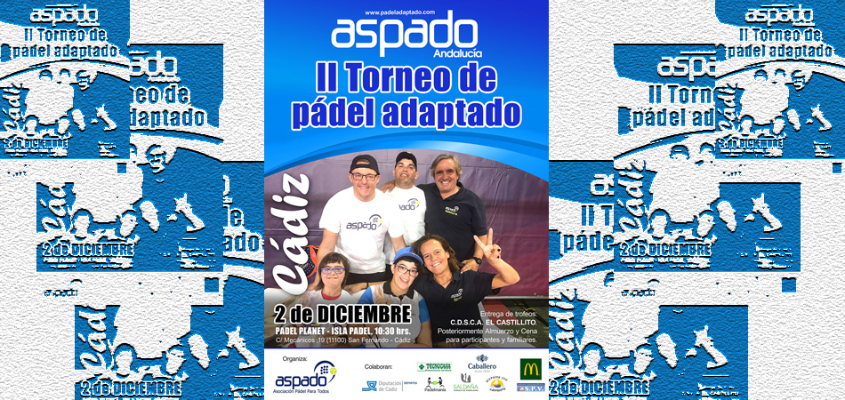 II Torneo de Pádel Adaptado en Cádiz
