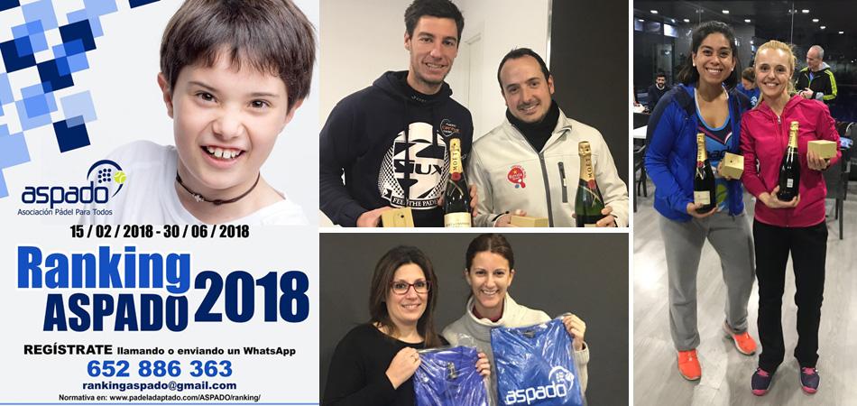 Cierre de la primera Liga Solidaria ASPADO